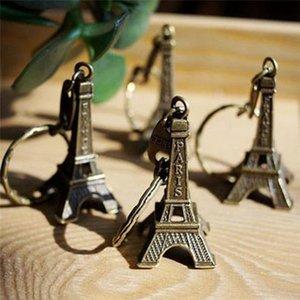 حار بيع برج ايفل المفاتيح سبيكة مفتاح سلسلة معدنية مفتاح برج ايفل حلقة معدنية سلسلة المفاتيح فرنسا برج ايفل المفاتيح حقيبة المخرج 3 لون