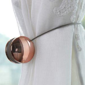 Magnet Two Round Free Installation Curtain Buckles Living Tie-back Supporto per fibbia magnetica Accessori per finestre