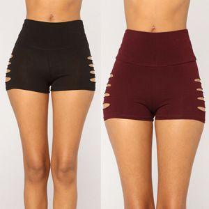 Women Hot Pants Gym Yoga Shorts Dance Sports Bodycon Stretchy Workout Bottoms