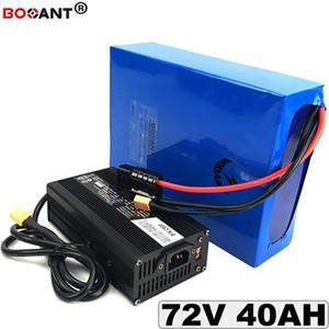 Bateria De Lítio recarregável 72 72 v 40ah BBSHD 1500 1500 w 3000 모터 바이칼 레티 오 리터 72 v + 5A Carre