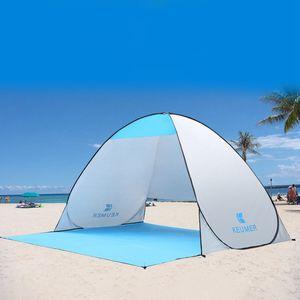 Kamp Balıkçılık Seyahat Bahçe Çadır Güneş Shelter için KEUMER Yeni Geliş Açık Çadır Barınak Anında -Up