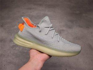 2020 Nuevo hombre de All Star de los zapatos corrientes 3M estático V3 V2 Kanye West V6 de zapatos semi Amarillo Blanco Negro Deportes Seankers de diseño para hombres Des Chaussures