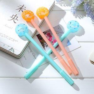 Пончики Shaped Gel Pen конфеты цвета мультфильм Marker Lollipop Канцелярские товары для офиса ШКОЛЬНИКИ офиса Расходные материалы J200207