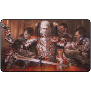 Magic Board Jeu Playmat: Edgar Markov 60 * 35cm Taille Table Taille Tapis Mousepad Play Matwitch Fantasy Fantasy occulte féminine foncé2trial o