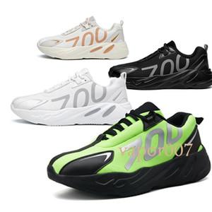 adidas yeezy yeezys boost mit box 2019 best 700 mode luxus Designer Schuhe wave runner 700 V2 3 Mt VX Kanye West schuhe Solide Vanta männer frauen Laufende turnschuhe