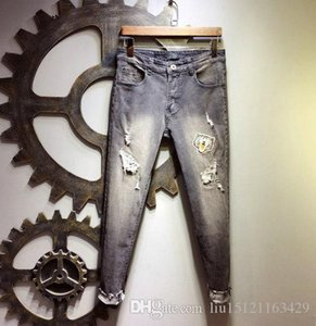 20 Designer mens Jeans Denim Fashion high quality pd embroidery brand Pants Mens Jean Motorcycle bike jeans High street designer pant