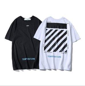 Für Männer und Frauen 2020 Art und Weise Sommer-T-Shirt mit geometrischer T Brief druckt Rundhals-T Shirt Kurzarm weiblicher kurzen T-M-XXL q7