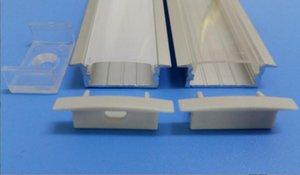 Livraison gratuite Prix Led Canal Aimant Light Bar, Led Strip barre rigide profilé en aluminium