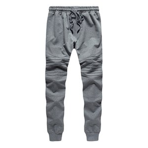 New Men Joggers Male Trousers Casual Pants Sweatpants Jogger grey Casual Elastic Cotton GYMS Fitness Workout Pant