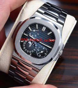 alta calidad reloj de lujo mens maestros 20 estilos Nautilus movimiento automático 5712 5712R 5711 5712 / 1A mecánica zafiro SS 316L reloj de pulsera