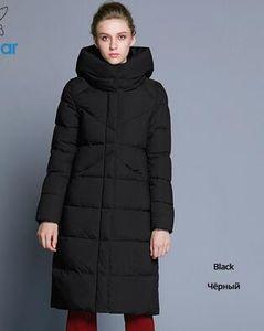 ICEbear 2019 new high quality women's winter jacket simple COFF design windproof warm coats female fashion brand parka GWD