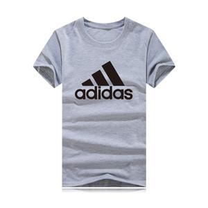 2020 Nouveau mode T-shirt Homme manches courtes en coton Casual Male T-shirt T-shirts Hommes Femmes T-shirts Hauts qualité Veste uni
