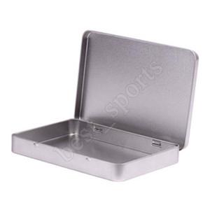 Metallo contenitore di latta Photo Postcard grande supporto dei monili d'argento classico rettangolo Storage Box 160 * 112 * 20mm ZZA1453