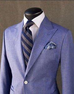 Costume Homme Fashion Design Male Wedding Prom Suit Slim Fit Tuxedo Men Formal Business Work Wear Suits 2 Pcs Set (Jacket+Pants)