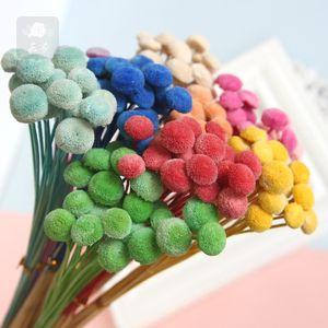 Knopfchrysantheme der Trockenblume der hohen Qualität Bauernhausdekor-Foto-Stützen der künstlichen Blumen, die Dekorationshintergrund-Blumenwand heiraten