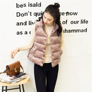 Pleuche Womens Vesta Designer Spring and Autumn Sleeveless Donna Short Coats Casual Single Breasted Female Clothes