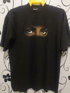 True Vintage años 90 Michael Jackson Dangerous World Tour 1992 camiseta talla L NWT