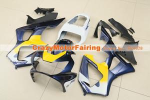 Nueva inyección ABS carenados de la motocicleta kit para HONDA CBR 929RR 929 2000 2001 00 01 CBR929RR CBR 900RR carenados juego de piezas de encargo azul amarillo