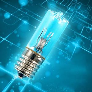 E17 désinfection UV Ampoule ozone quartz Tube ultraviolet à usage domestique Utilisation UVC germicide Lampe de stérilisation Acariens ampoule lampe