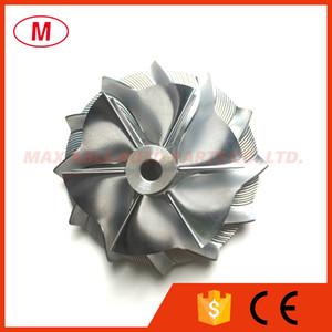 GT15-25 793221-0002X 44.50 / 59.48mm 6 + 6 lâminas de Alto Desempenho Turbo Billet Compressor roda / Aluminum2618 / Turbo Fresadora roda do compressor