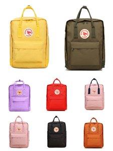 New Style Fjallraven Kanken Unisex Embroidered Backpack Kanken Backpack School Backpack Waterproof Swedish Arctic Fox Free Shipping #QA766