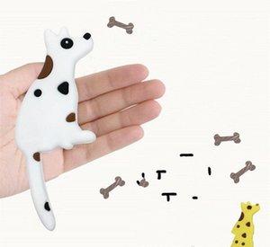 Dog Tail criativo Magnetic Gancho Universal PVC Trumpet Imã Para Casa Decoração Pothook Hot Sale 4 5yka dd