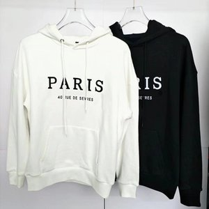 Mens Roupas Homme Com Capuz Moletom Com Capuz Mens Stylist Letter Bordado Hoodies High Street Hoodies Pulôver Supershirts M-2XL