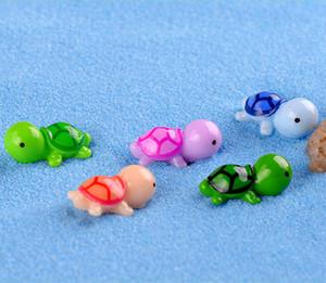 """السلاحف البحرية الشكل الحيواني السلحفاة DIY اللعب المنزل والحديقة مكتب تانك الأسماك زينة 0.9 """""""
