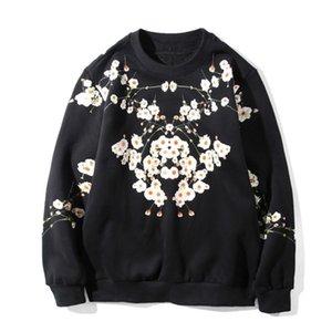 19FW Luxury Designer Sweatshirts Fashion Printing High Quality Men Women Hoodies Unisex Designer Long Sleeve Black Size S-2XL