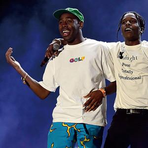GOLF WANG MULTI COULEUR 3D T Fashion Casual solide simple à manches courtes femmes T-shirt Planche à roulettes, rue HFLSTX260
