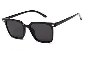 Novo hip-hop Europeus e Americanos tendência óculos de sol Moda caixa de filme marinho deslumbrante Óculos De Sol personalidade óculos de alta definição