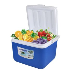 13L Outdoor Incubator Portable Storage Box Car Cold Box Fishing Cooler Fridge For Travel