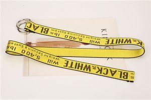 أحزمة 200CM قماش جديد رجال نساء الهيب هوب حزام شارع عارضة حزام الخصر فضفاض الشريط عالية الجودة