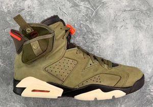 Con bolsillo 6 Medium Olive Green Men Zapatos de baloncesto zapatillas de deporte 6S VI Pinnacle Jack Gatorade Negro infrarrojos Flint Cactus con el tamaño de 8-12
