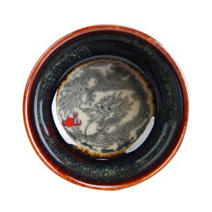Ceremonia del té de cerámica del horno Pequeña Copa Copa de Kung Fu té té pequeño cuenco hecho a mano Phoenix Master Cup personalizable