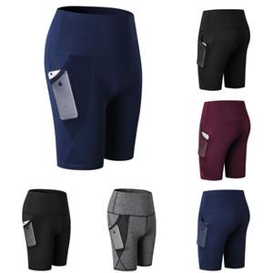 Pantaloni da yoga Butt Lift da donna Leggings da palestra push up Pantaloni Scrunch fitness corti