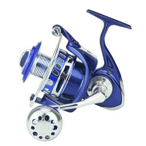 WX9000 كاملة جسم معدني الصيد بكرة مياه البحر الوقاية CNC الذاتي قفل الروك ذراع قارب الصيد عجلة الغزل الفرامل قوة 20KG
