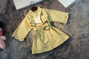top quality kids clothes boys girls hoodies jacket kids coats trench coat windbreaker 5TAI