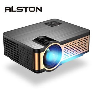 ОЛСТОН W5 Full HD LED проектор 4k 4000 люмен HDMI USB 1080p портативный кинотеатр Proyector Бимер