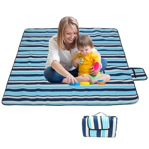 200x200Cm Waterproof Folding Picnic Blanket Outdoor Beach Mat Beach Blanket Sand Proof Extra Large Portable Hiking