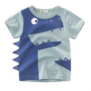 Boys Designer T-shirts Kids Tshirts Summer Fashion Handsome Baby Clothes Boy Short Sleeves T Shirts Child Luxury Tees Tops New Clothing