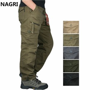 Joggers Cargo Pants Multi Pockets Tactical Pants Casual Outdoor Hiking Long Trousers Streetwear Army Straight Slacks