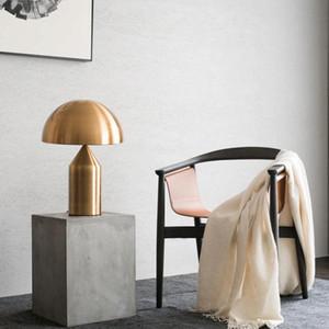 modern masa lambası minimalist ışık yatak odası çalışma masası ışık İskandinav kişilik yaratıcı mantar masa lambası
