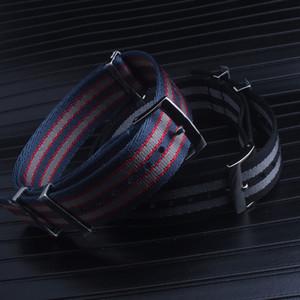 Bracelet en nylon de qualité supérieure pour Omega Planet Ocean 007 pour Submarin