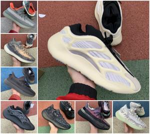 2020 di alta qualità 700 Kanye West Running Shoes vanta 700 V3 Alvah Azael 3M Reflective V2 Mist Alien Mens Donne inerzia Trainer Sneakers