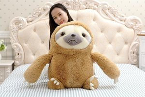 Lovely Animation Sloth Doll Sprouting Soft Down Cotton Stuffed Plush Toys Children Birthday New Year Gifts