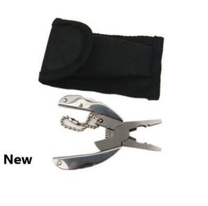 Pocket-Multi-Funktions-EDC Werkzeuge Schlüsselanhänger Mini Folding Zangen-Messer-Schraubenzieher EDC beweglicher Taschen-Werkzeug CCA11070 50pcs