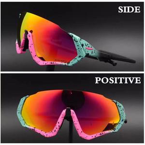 Uçuş Ceket Bisiklet Gözlük OO9401 Erkekler kadınlar Moda Polarize Güneş Gözlüğü Açık Spor bisiklet güneş gözlüğü açık Gözlük 3 lens Koşu