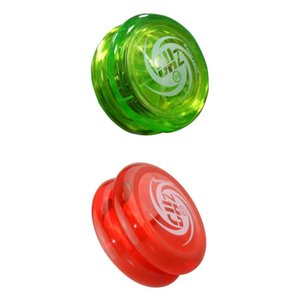 Plastic Responsive D1 Professional YoYo with String Green & Red Color, Pack of 2