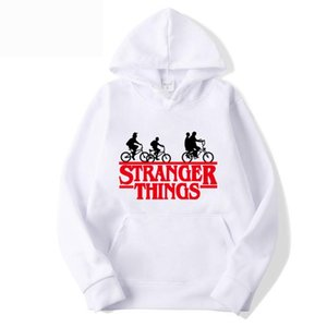 Pulls Designer Hommes Vetement Streetwear Casual Hoodies Pull avec Stranger Taille Thing Impression Plus S-3XL